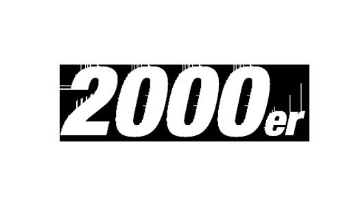 2000s Schriftzug