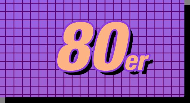 80s Schriftzug
