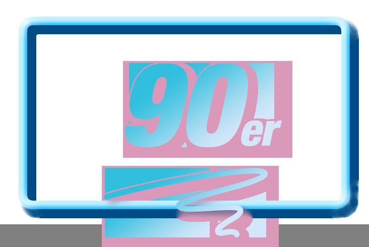 90s Schriftzug